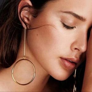 circle round drop Earring For Women Simple New